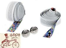 CINELLI CALEIDO RIBBON WHITE BICYCLE HANDLEBAR BARTAPE BAR TAPE