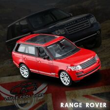 1:43 Scale Red Land Rover Range Rover Car Diecast Model 1/43