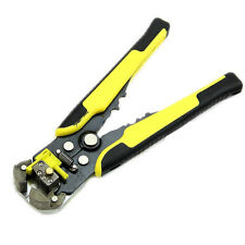 220mm Automatic Wire Striper Cutter Stripper Crimper Pliers Terminal Tool Yellow