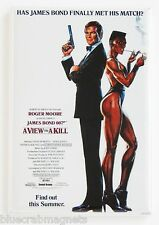 A View to a Kill (Adavance) FRIDGE MAGNET (2 x 3 inches) movie poster james bond