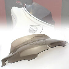 "Light Smoke 8"" Wave Windshield For Harley FLHT FLHTC FLHX Touring 1996-2013"