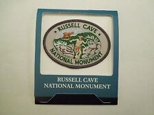 Vintage Russell Cave National Monument Alabama Embroidered Iron On Patch
