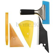 5 IN 1 Car Window Tinting & Wrapping Film Application Tools Kit Contour Squeegee