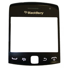 BLACKBERRY CURVE 9350 9360 9370 OEM BLACK SCREEN LENS LCD COVER DISPLAY GLASS