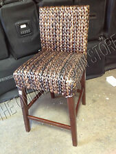 Pottery Barn woven Seagrass Barstool brown Havana Chair MEDIUM counter
