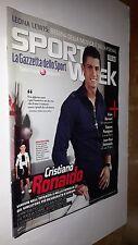 SPORT WEEK numero 9 anno 2008 CRISTIANO RONALDO