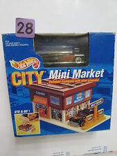 HOT WHEELS CITY MINI MARKET PURPLE PASSION