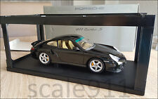 PORSCHE 911 (996) TURBO S 1:18 DARK GREEN AUTOART DEALER - AUTO ART 1/18 WAP