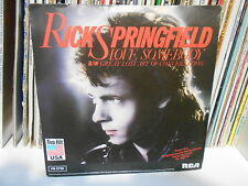 "RICK SPRINGFIELD""LOVE SOMEBODY- GREAT LOST ART OF CONVERSATION"" 7"""