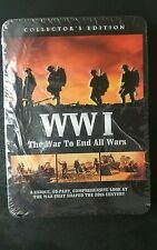 WWI - The War to End All Wars (DVD, 2011, 3-Disc Set, Tin Case)