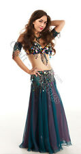 Belly Dance Costume Set - Custom Made To Your Size - Cocktail Party