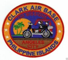 CLARK AIR BASE PHILIPPINES, SNOOPY AND TRIKE, 100 MISSIONS ANGELES CITY        Y