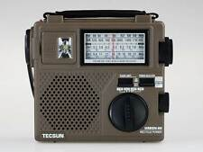 TECSUN GREEN-88 FM/AM/SW Hand Crank Rechargeable Dynamo Portable Radio Receiver