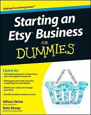 Starting an Etsy Business For Dummies, Shoup, Kate, Strine, Allison, Acceptable