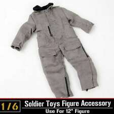 """1/6 Dragon DML Toy WWII US Tank Crews Coverall Jacket Coat Clothes F 12"""" Figure"""