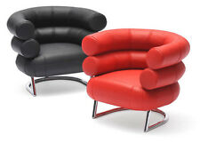 Dollhouse Sedie di design 1:12 Bibendum chairs di REAC Japan red & black REC056