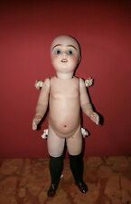 Ancienne poupee mignonette biscuit simon halbig grande taille all bisque doll