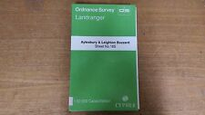 Aylesbury + Leighton Buzzard: Ordnance Survey Landranger Map 1:50000 #165 (M4)