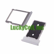 For HTC One M9 USA Micro SD Memory Card + Sim Card Tray Slot Holder Parts Silver