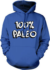 100% Paleo Pride Ancestral Healthy Lifestyle Diet Meat No Wheat Hoodie Pullover