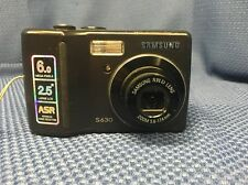 Samsung S630 6.0 MP Digital Camera - Black - For Parts Or Repair