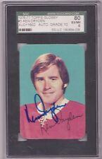KEN DRYDEN CANADIENS 1976-77 SIGNED TOPPS GLOSSY SGC PERFECT 10 AUTOGRAPH