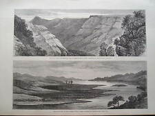 1879 zulu war on the lower Tugela par crealock imprimer illustrated london news