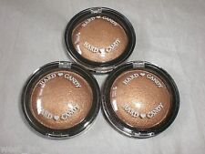 Hard Candy MINI So Baked Bronzer Highlighter Powder Tropics Bronze .18 Oz x 3