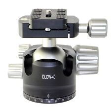 Desmond DLOW-40 40mm Low Profile Ball Head Arca / RRS Compatible w Pan Lock