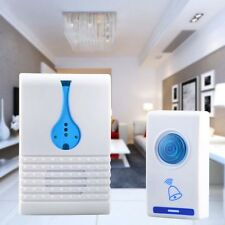 LED Wireless Chime Door Bell Doorbell & Wireles Remote control 32 Tune Songs TR