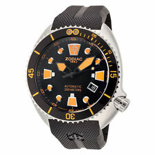 NEW Zodiac Oceanaire Swiss Made Automatic Poly Strap Watch ZO8012