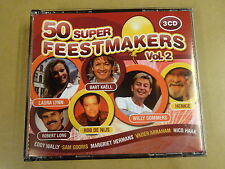 3-CD BOX / 50 SUPER FEESTMAKERS VOLUME 2