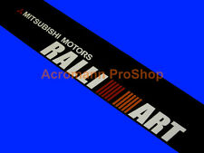 53inch Mitsubishi Ralliart Windshield Decal Sticker Banner Sunstrip Sunvisor Evo