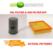 PETROL SERVICE KIT OIL AIR FILTER FOR OPEL ZAFIRA 1.6 105 BHP 2005-09