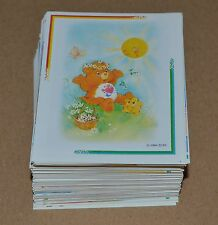 1994 BAIO Care Bears Full Complete Set 180 Stickers