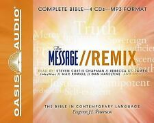 The Message Bible : New Testament by Eugene H. Peterson (2008, MP3 CD,...