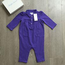 Bnwt bébé filles ralph lauren allinone 6m & lots de vêtements 100% authentique