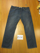 Used 505 straight fit levi's jean tag 38x30 11524R