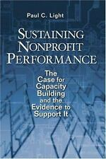 Sustaining Nonprofit Performance: The Case for Capacity Building and the Eviden
