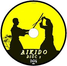 DVD VOL 3 YOSHINKAN AIKIDO LESSONS EASY TO FOLLOW VIDEO TUTORIAL 3 HR+  NEW DVD