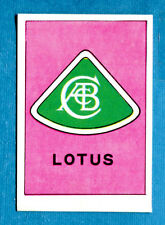 AUTO FLASH - Ed.COX - Figurina/Sticker n. 193 - LOTUS (GB) -New