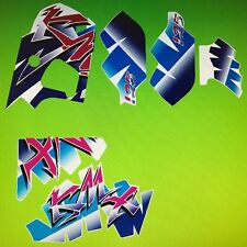 KAWASAKI KMX125 DECAL SET