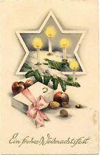 Weihnachten, Kerzen, Äpfel, Nüssen, 1927