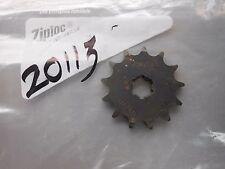 Sunstar Front Sprocket # 20113 83-03 Suzuki JR80
