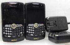 Lot of 2 BlackBerry Curve 8350i - Nextel Smartphones