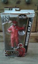 WWE Mattel Elite Brodus Clay Wrestling (Wrestler) Figure Series 18 New And Boxed