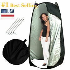 Waterproof Portable Pop Up Toilet Shower Tent Changing Room Camping Shelter New