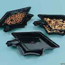 Plastic Graduation Cap Serving Dishes / 12 PC / GRADUATION (38/76)