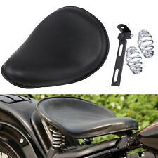 "Thickened Leather 3"" Solo Seat Bracket Kit For Harley Bobber Chopper Custom NEW"
