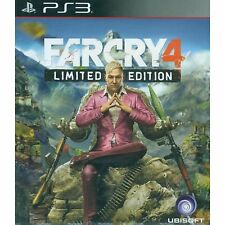 PS3 Games Farcry 4 Limited Edition Brand New & Sealed